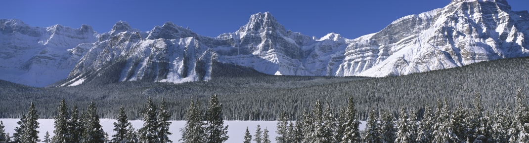 Winter in the Rockies (photo)